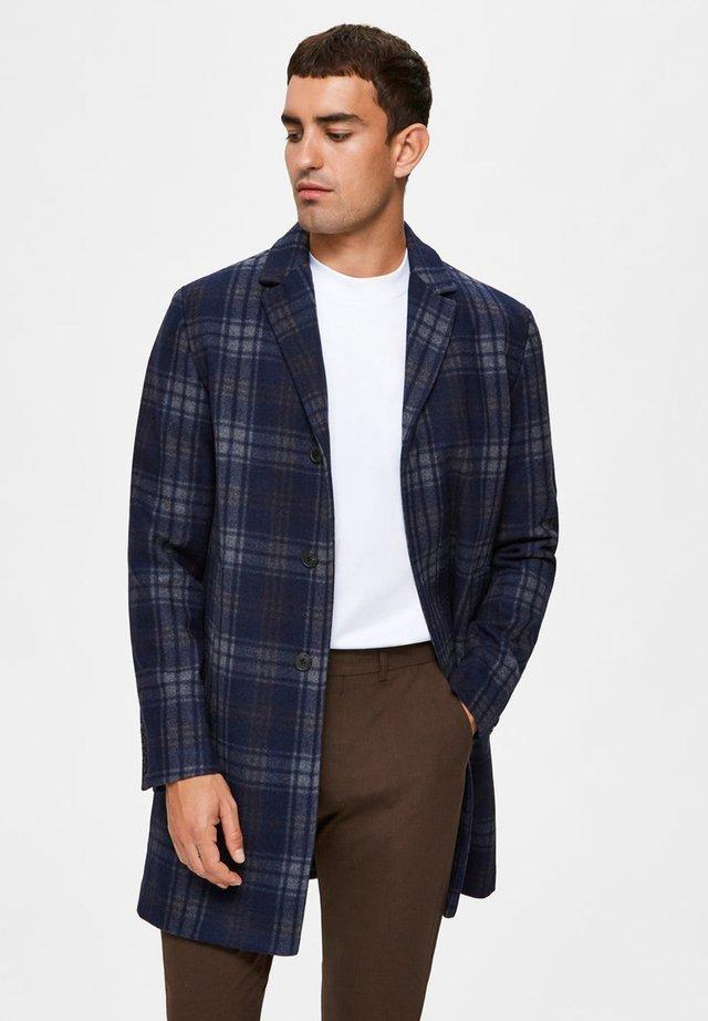 SLHHAGEN  WOOL COAT  - Classic coat - dark navy