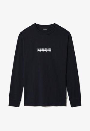 S-BOX LS - T-shirt à manches longues - blu marine