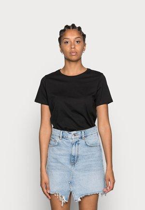 CREW TEE 2 PACK - T-shirt basic - black/white