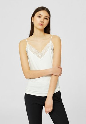 SFMIO RIB LACE SINGLET - NOOS - Top - snow white