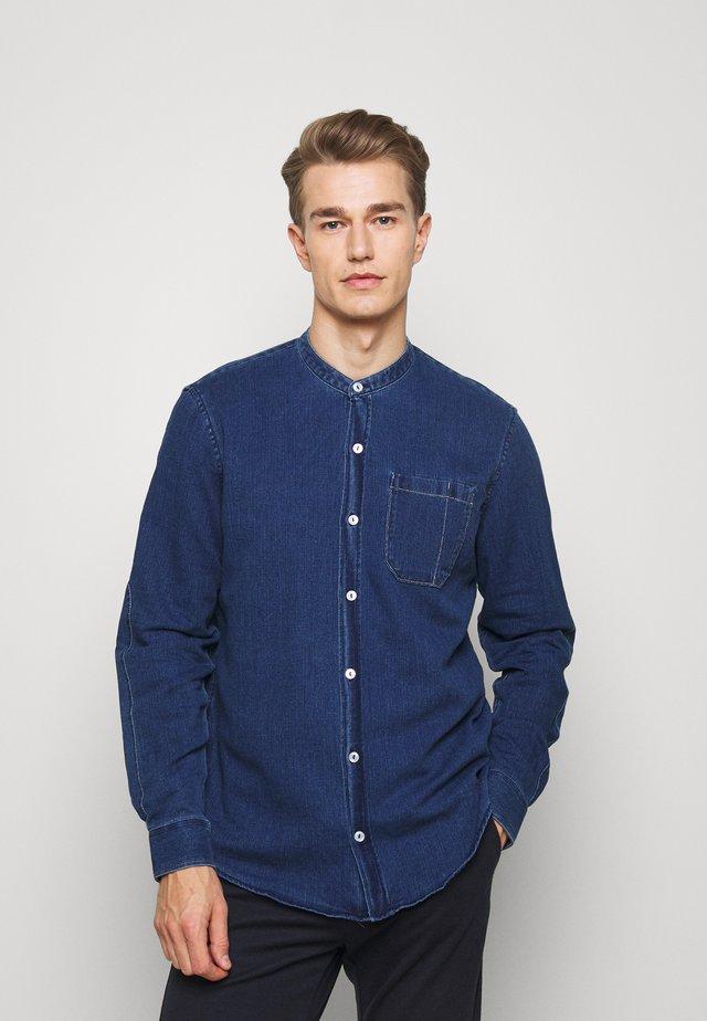 LANGARM - Shirt - blue denim