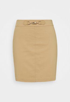Mini skirt - chamois