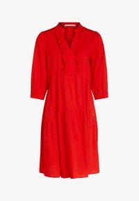 Oui - Day dress - fiery red - 4