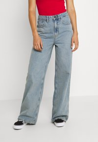 BDG Urban Outfitters - EMBROIDERED PUDDLE  - Relaxed fit jeans - summer vintage - 0
