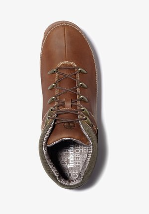 EURO SPRINT - Lace-up ankle boots - rust full grain