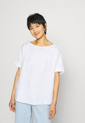 KURZARM - Blouse - white