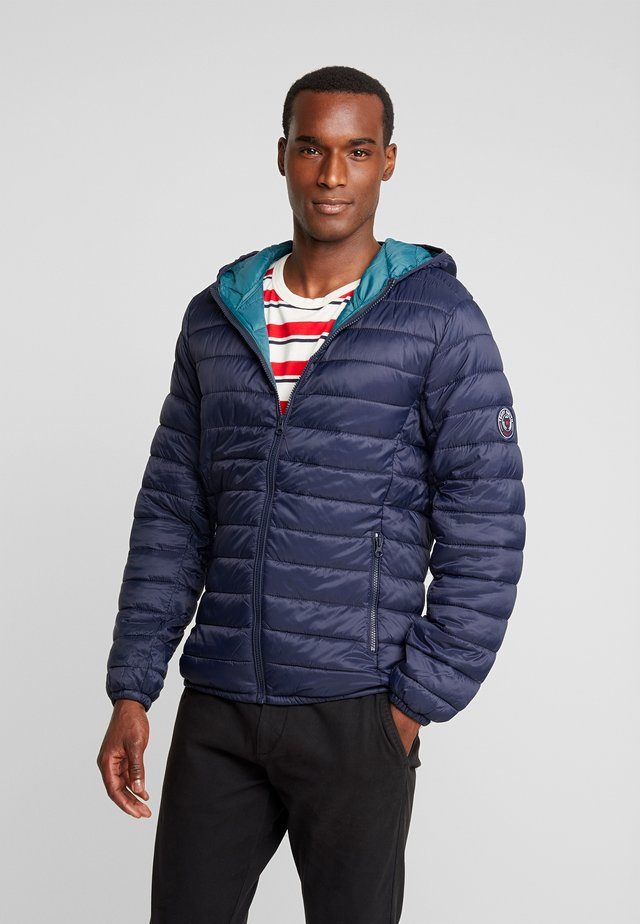 BLIGHTER - Light jacket - total navy/emeraude