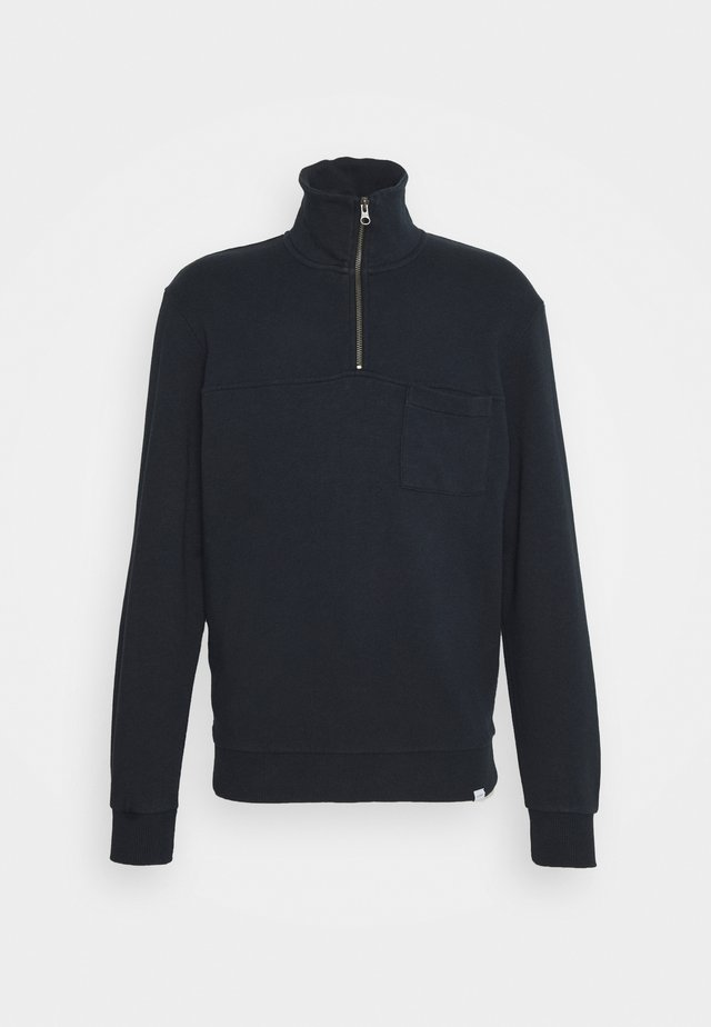 CESANA HALFZIP - Sweatshirt - dark navy