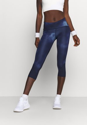 FLY FAST HEATGEAR CROP - Tights - midnight navy