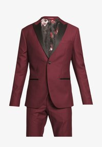 Isaac Dewhirst - TUX - Kostym - bordeaux - 9