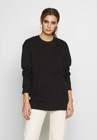 Common Kollectiv - UNISEX FLASH LONG SLEEVE - Bluzka z długim rękawem - black - 2