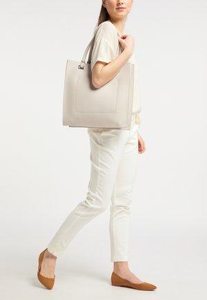 SHOPPER - Tote bag - light grey