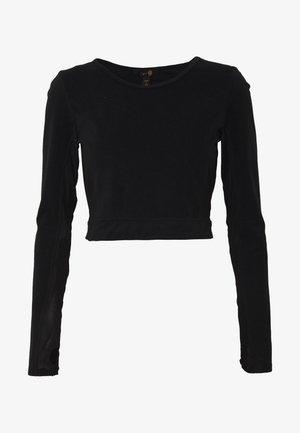 ESTUARY - Basic T-shirt - black