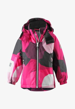 Winter jacket - raspberry pink
