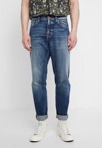 Nudie Jeans - STEADY EDDIE II - Straight leg jeans - indigo shades - 0