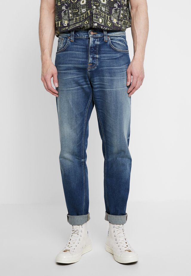 STEADY EDDIE II - Straight leg jeans - indigo shades