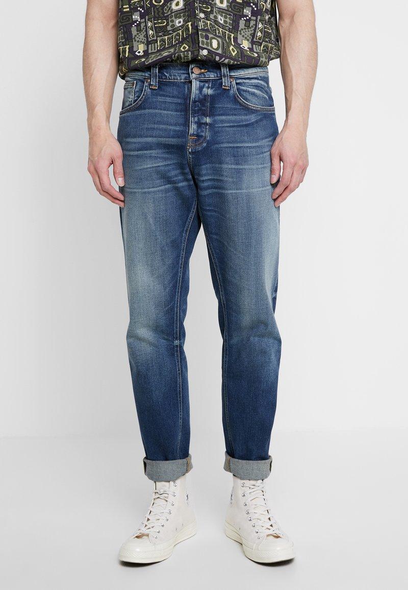 Nudie Jeans - STEADY EDDIE II - Straight leg jeans - indigo shades