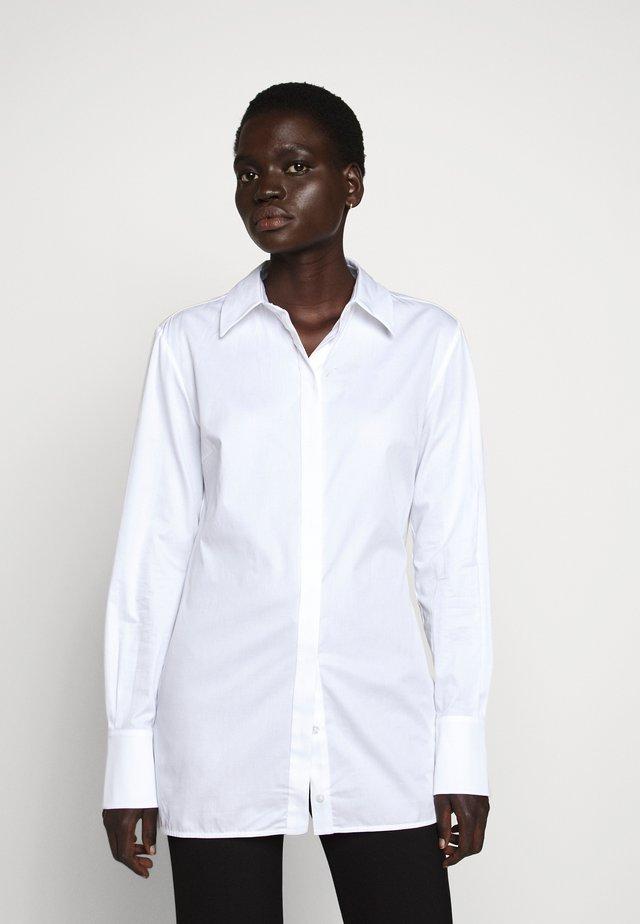 OPEN BACK SHIRT - Košile - white