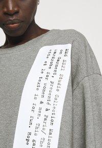 MM6 Maison Margiela - Sweatshirt - grey - 5