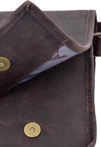 Gusti Leder - Laptop bag - dark brown - 6