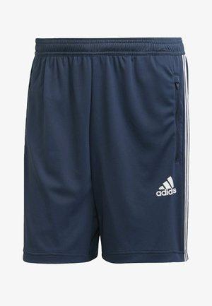 DESIGNED TO MOVE SPORT 3-STREIFEN  - Pantalón corto de deporte - blue