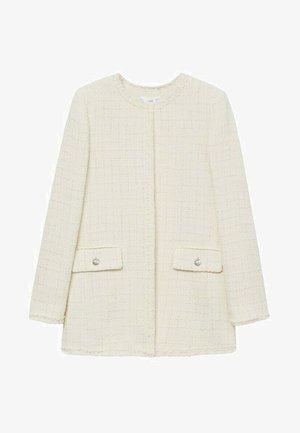 Krátký kabát - ecru