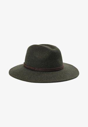 TACK FEDORA - Hat - olive melange