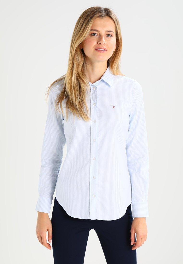 GANT - OXFORD BANKER - Button-down blouse - light blue