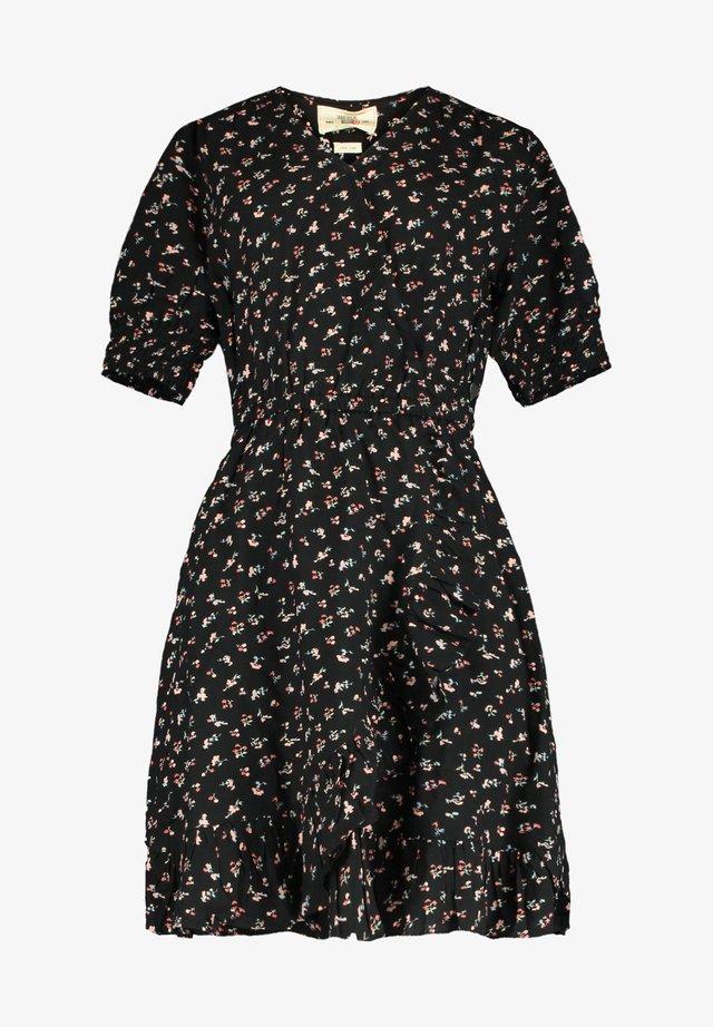 Day dress - flower black