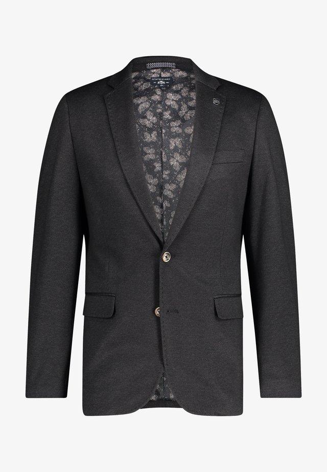 Blazer jacket - dark-anthracite plain
