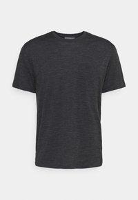 Icebreaker - RAVYN POCKET CREW - Basic T-shirt - jet heather - 4