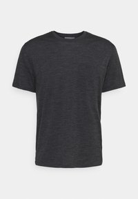 RAVYN POCKET CREW - Basic T-shirt - jet heather