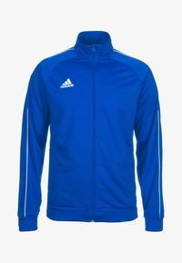 adidas Performance - CORE ELEVEN FOOTBALL TRACKSUIT JACKET - Chaqueta de entrenamiento - blue/white - 4