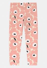 Marimekko - LAIRI MINI UNIKOT - Leggings - Trousers - beige/rose/black - 1