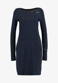 Ragwear - Jerseyklänning - navy - 3
