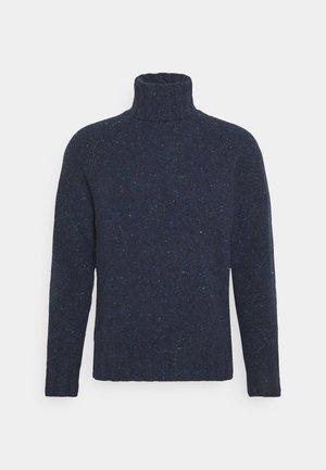 MENS ROLL NECK - Jumper - dark blue