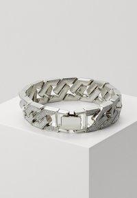 Urban Classics - GLITTER BRACELET - Rannekoru - silver-coloured - 1