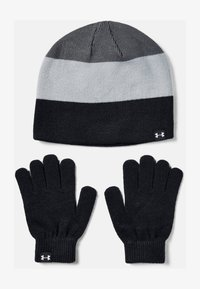 Under Armour - BEANIE GLOVE COMBO - Gloves - black - 0