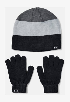 BEANIE GLOVE COMBO - Gloves - black