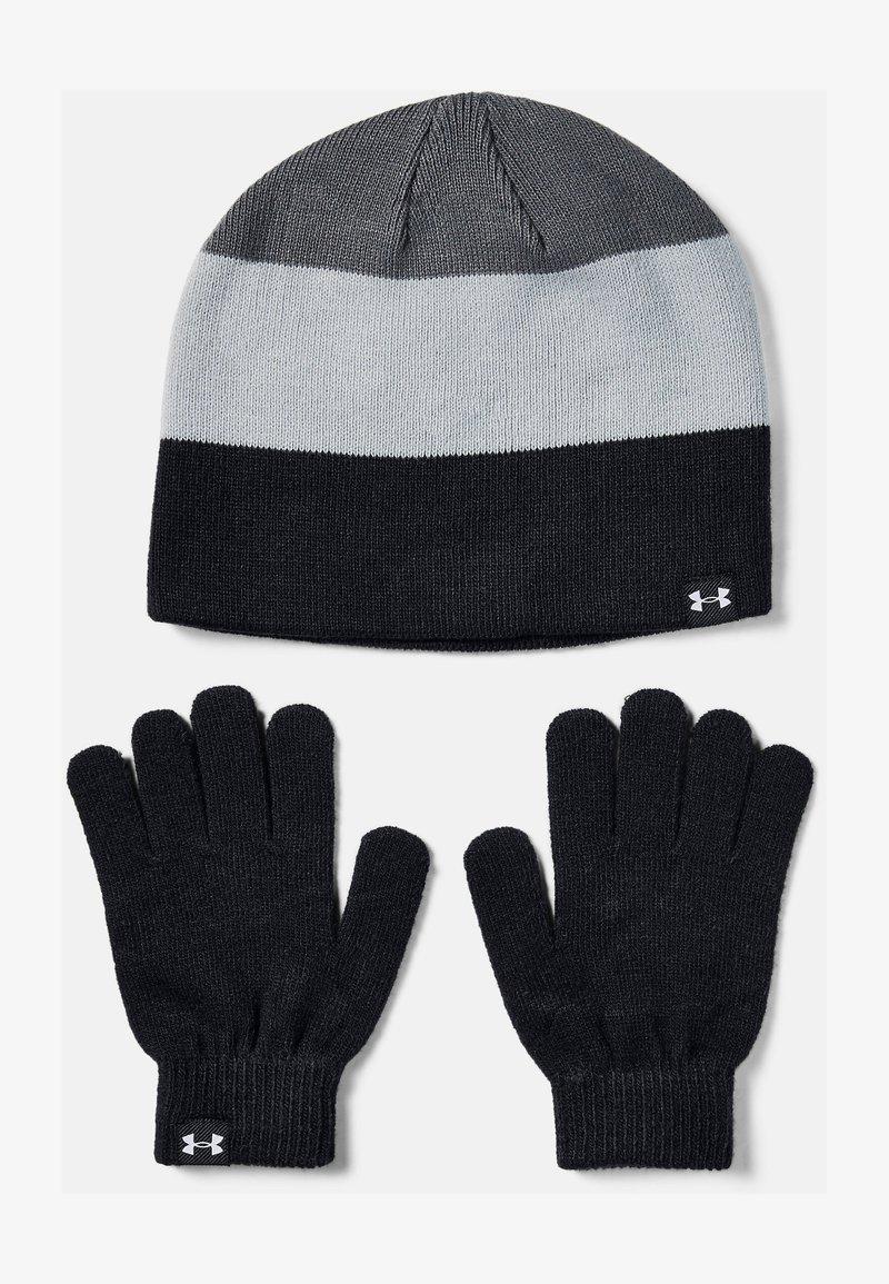 Under Armour - BEANIE GLOVE COMBO - Gloves - black