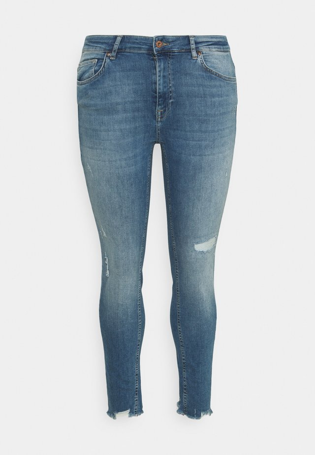CARTARA LIFE  - Skinny džíny - medium blue