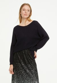 comma casual identity - LOOSE FIT - Jumper - marine - 3