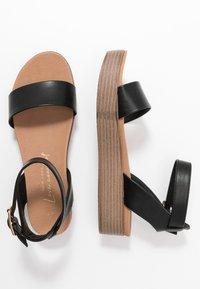 New Look - GENIUS - Sandalias con plataforma - black - 3