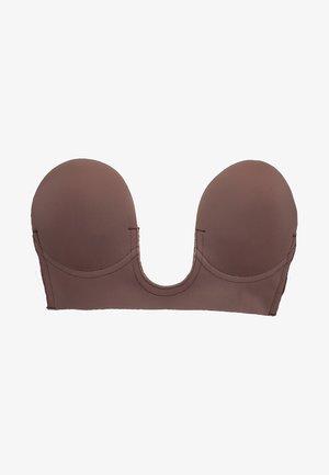 LUVE BRA - Reggiseno con spalline regolabili - chocolate