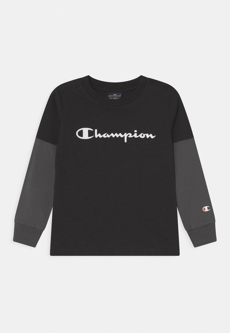 Champion - AMERICAN CLASSICS LONG SLEEVE UNISEX - Long sleeved top - black