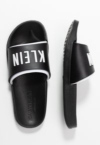 Calvin Klein Swimwear - SLIDE - Pantofle - black - 3