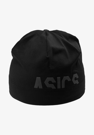 LOGO BEANIE - Mössa - performance black