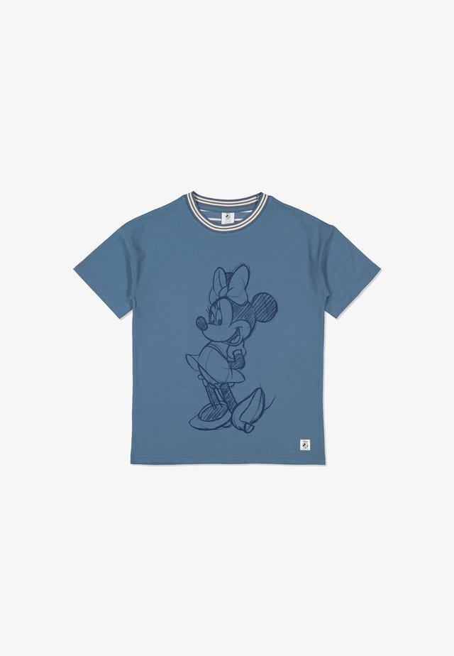 MINNIE MOUSE - Print T-shirt - moonlight blue