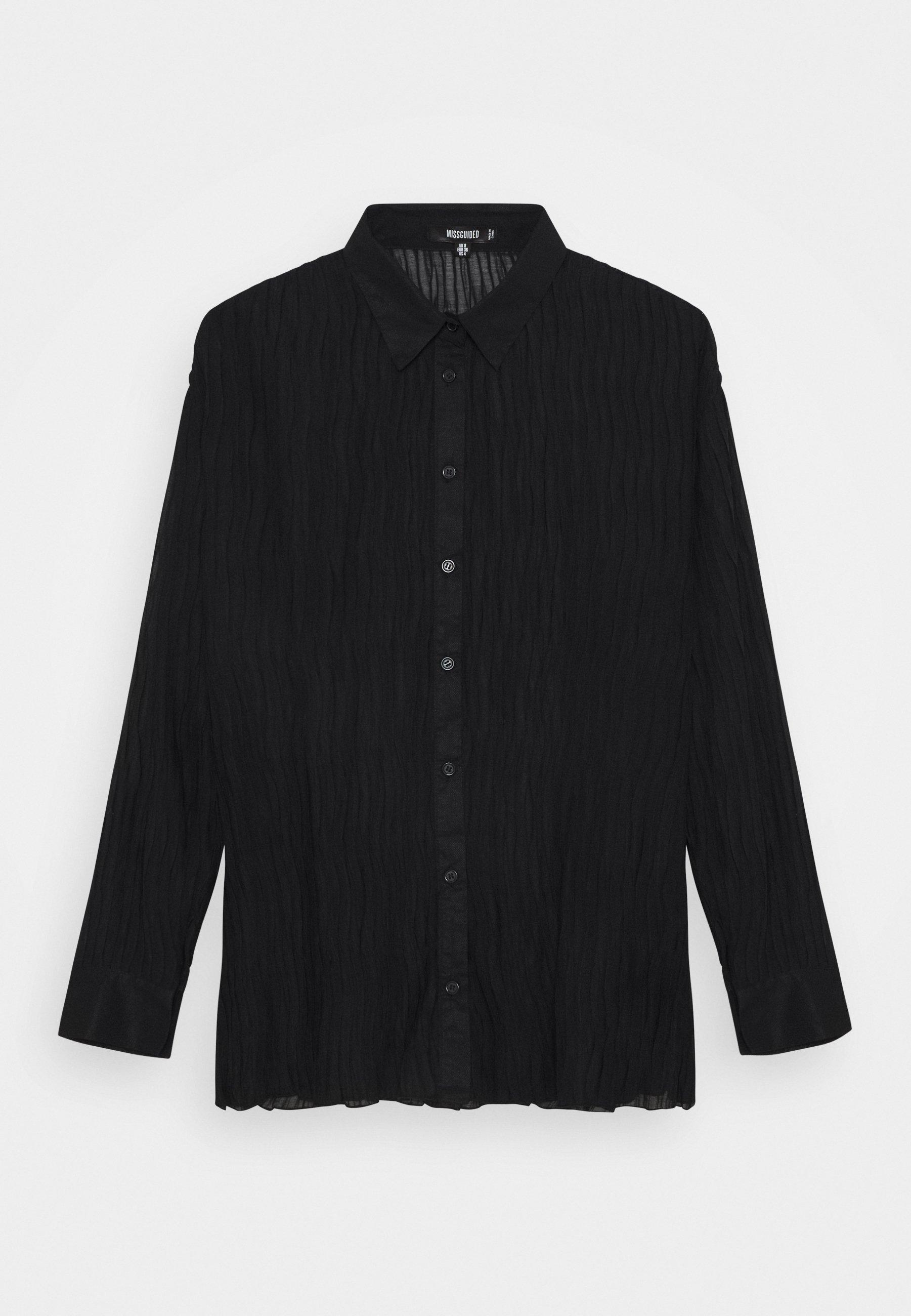 Women PLISSE - Button-down blouse