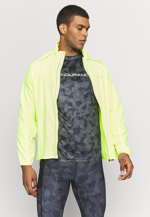 BERNIE JACKET - Běžecká bunda - safety yellow
